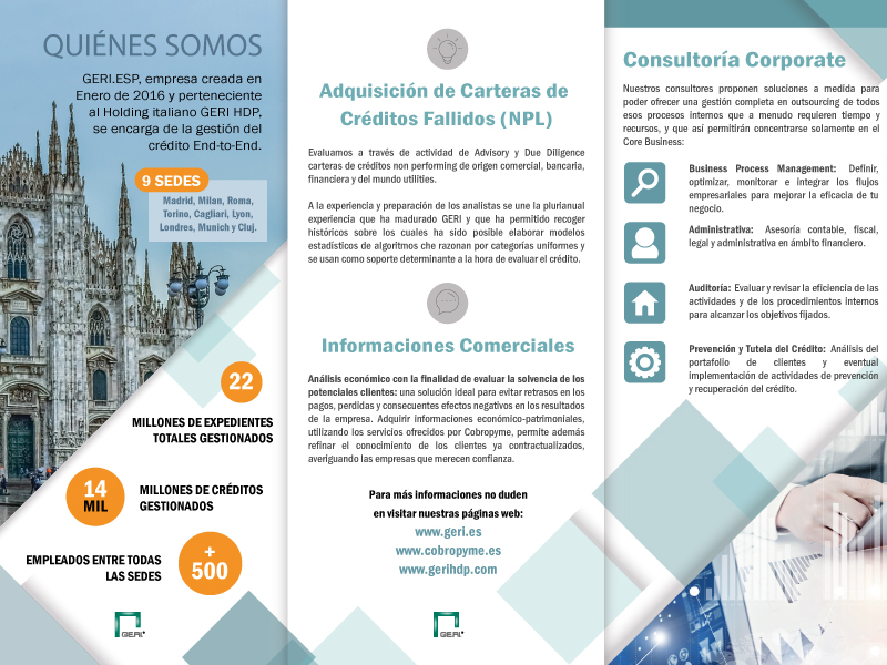 Portafolio Diseño Come and Communicate - Geri