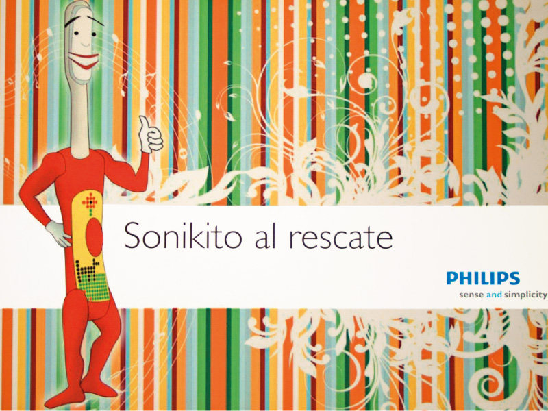 Portafolio Diseño Come and Communicate - Philips