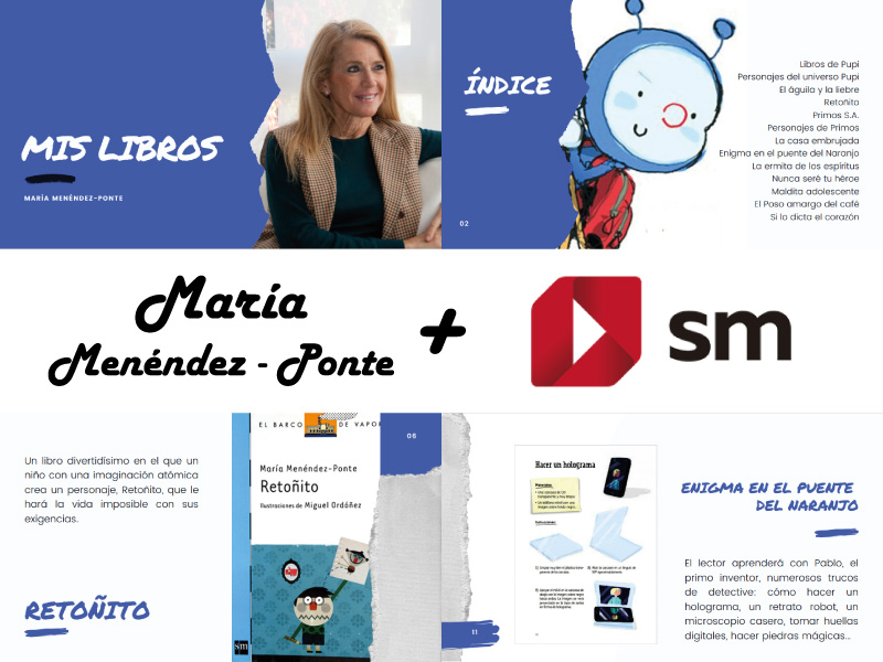 Portafolio Diseño Come and Communicate - Editorial SM