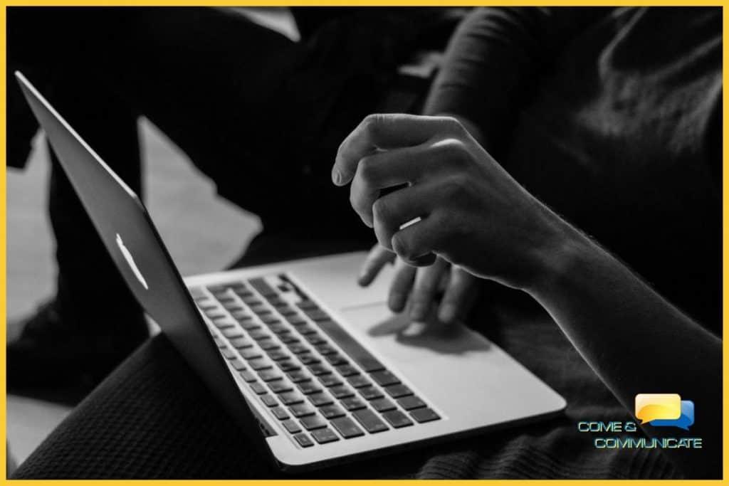 Fidelización de clientes.  Escribiendo un email.