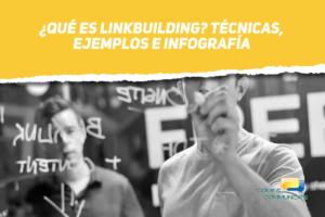 Personas escribiendo que es linkbuilding